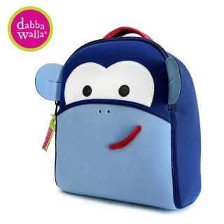 【Dabbawalla】美國瓦拉包 防走失包-(藍色猴子)