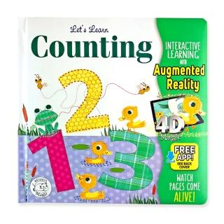 LET'S LEARN COUNTING 123'S - COME-TO-LIFE BOARD BOOK - LITTLE HIPPO BOOKS