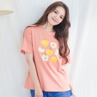 【IMACO】水果印花棉質T-shirt(3色可選)
