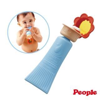 【People】乳液瓶身咬舔玩具-8個月(不含塗料/固齒器/安撫玩具)