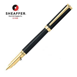 【SHEAFFER】買INTENSITY王者系列山脊紋啞黑鋼筆送深藍色墨水