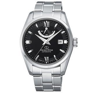 【ORIENT 東方錶】東方錶ORIENT STAR機械鋼帶錶-黑(RE-AU0004B)