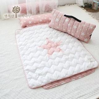 【The zazak】韓國手工製兒童睡袋(加大版- 粉色星星款)