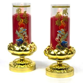 【AYAPU 悅亞普】電池式環保安全電子蠟燭(VX-CL938BT-紅)