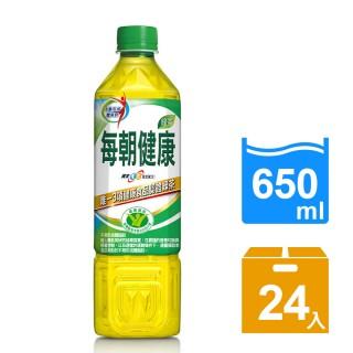 【每朝健康】健康綠茶650ml(24入/箱)