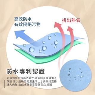 【You Can Buy】護理級100%防水防蹣抗菌床包式保潔墊(單人.雙人.雙人加大)