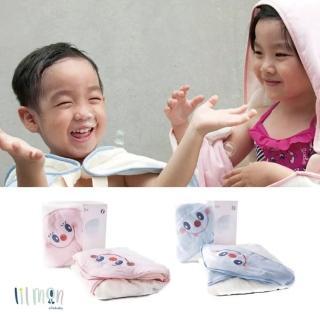 【lilmon】Cutie小可愛浴巾-沐浴乳小姐/泡泡先生(讓幫寶寶洗澡成為一件快樂享受的親子互動)