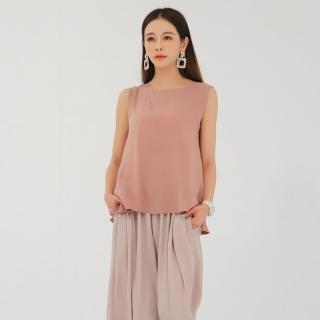 Yumie100%冰蠶繪染時裝背心-清新款