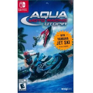 【Nintendo 任天堂】NS Switch 水上摩托車 競速烏托邦 英文美版(Aqua Moto Racing Utopia)