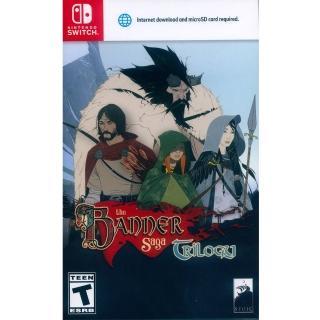 【Nintendo 任天堂】NS Switch 旗幟的傳說 三部曲 英日文美版(The Banner Saga Trilogy)