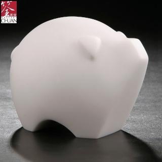 【筌美術】富貴豬_石雕(生肖 豬 送禮 限量)