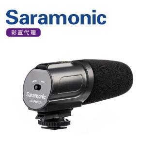 【Saramonic 楓笛】超心型環繞電容式麥克風SR-PMIC3(彩宣公司貨)