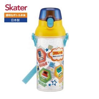 【Skater】直飲透明水壺480ml(鐵道王國RAIL)
