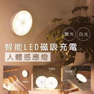 【雙11限定】智能LED磁吸充電人體感應燈/