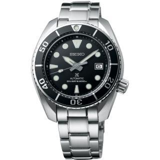 【SEIKO 精工】Prospex 廣告款兩百米潛水機械錶黑水鬼(6R35-00A0D SPB101J1)