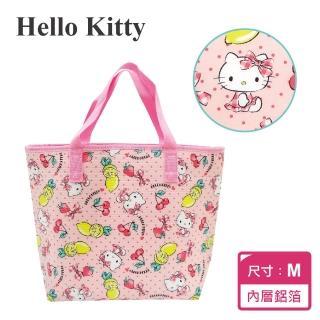 【SANRIO 三麗鷗】Hello Kitty保溫保冷提袋-M(43x30x14cm)