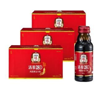 【正官庄】活蔘28D 3盒組(100mlx10瓶/盒)
