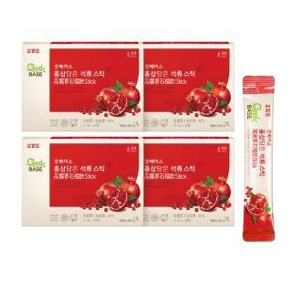 【正官庄】高麗蔘石榴精華飲-STICK 4盒組(30入/盒)