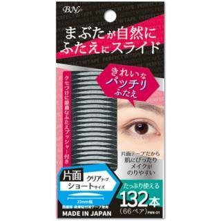 【BN】新完美雙眼皮貼PWN-1(單面透明 短幅23mm 附調整棒)