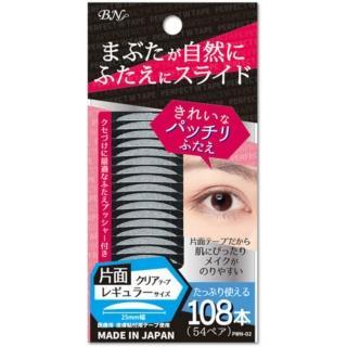 【BN】新完美雙眼皮貼PWN-2(單面透明 常規型25mm 附調整棒)