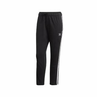 【adidas 愛迪達】長褲 Adicolor Pants 運動 休閒 女款 愛迪達 三葉草 三線 健身 重訓 黑 白(FL0047)