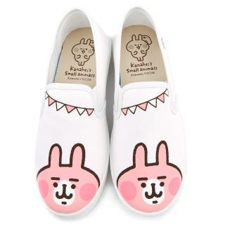 【童鞋城堡】娜赫拉 女款 俏皮活力帆布休閒鞋(KI8353-白)