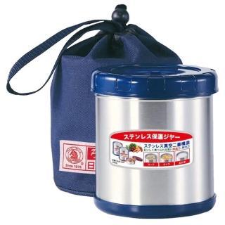 【Pearl Horse 寶馬】0.85L附提袋保溫便當盒(SHW-GL-850 藍色)