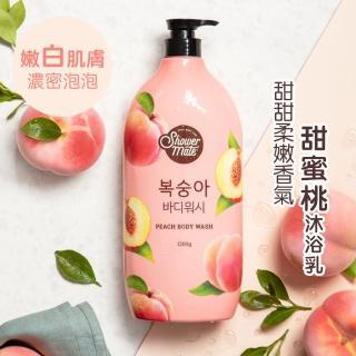 【ShowerMate】微風如沐 果香沐浴乳-甜蜜桃1200g