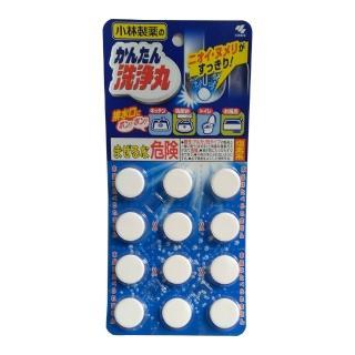 【小林製藥】排水管香氛除垢清潔錠12錠裝(無味)