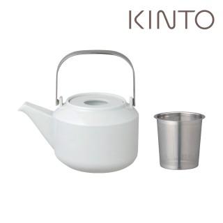 【Kinto】LT茶壺600ml- 白