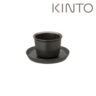 【Kinto】LT杯盤組160ml-黑