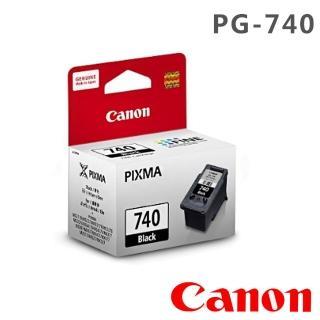 【Canon】PG-740 原廠黑色墨水匣(日本製 / 防水 / MG3670)