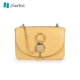 【Sarlisi】夏麗絲夏季女包新款百搭鏈帶側背斜背包時尚小方包(小包款)
