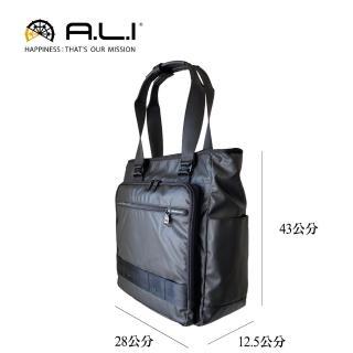 【A.L.I】日本專櫃 機能托特公事包/肩背包/電腦包(WTZ-3312)