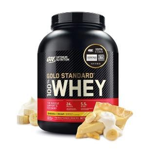 【美國 ON】金牌 WHEY 乳清蛋白(香蕉/5磅/罐)