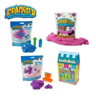 【Mad Mattr】瘋狂博士MM沙入門款創意4件組-MM沙+立體包+方塊包+城堡模具