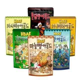 【Toms Farm】韓國湯姆農場杏仁果家庭號210g 4口味任選