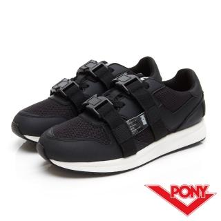 【PONY】TRIBECA系列個性風格潮流運動慢跑鞋 運動鞋 球鞋 男鞋 女鞋 黑色