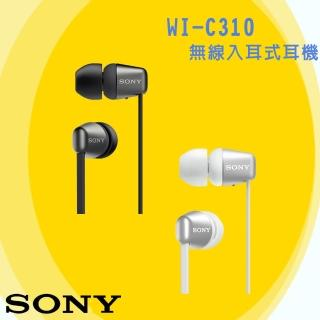 【SONY 索尼】WI-C310 無線藍牙入耳式耳機 續航力15H(神腦保固)