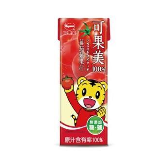 【光泉】可果美蕃果園 100%蕃茄蘋果汁(可果美蕃果園 100%蕃茄蘋果汁200ml-6入)