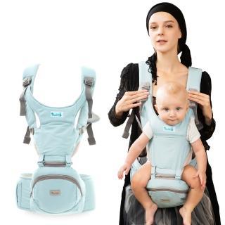 【yoda】二階段輕巧儲物座椅式揹帶(輕巧綠)
