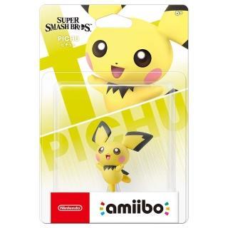 【Nintendo 任天堂】amiibo公仔 皮丘(明星大亂鬥系列)