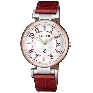 【CITIZEN 星辰】xC 光動能 永恆戀人真鑽限量款時尚女錶-33mm(EO1196-07W)