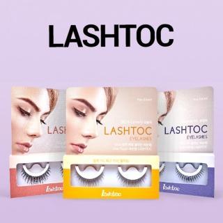 韓國原裝Lashtoc免膠水重複黏貼假睫毛