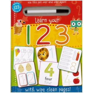 WIPE CLEAN:Learn Your 123