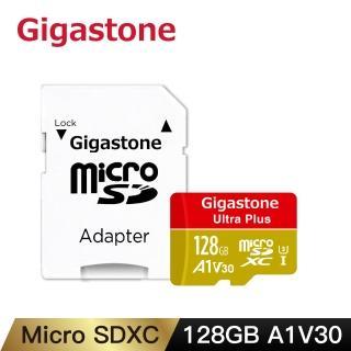 【Gigastone 立達國際】128GB micro SDXC UHS-Ⅰ U3 記憶卡(128G A1V30 高速記憶卡)