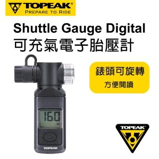 【TOPEAK】可充氣電子胎壓計Shuttle Gauge Digital