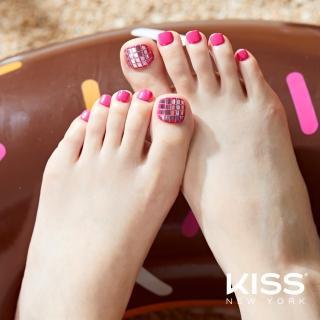 【KISS New York】Press&Go頂級足部指甲貼片(泰絲的解藥 KPT06K)