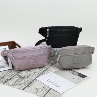 【VIVI SECRET】休閒輕便防潑水斜側胸包/腰包(共3色)