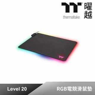 【Tt eSPORTS】Level 20 RGB電競滑鼠墊(GMP-LVT-RGBHMS-01)